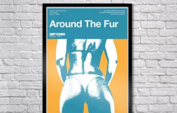 Limited Edition Around The Fur Serigraph