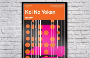 Limited Edition Koi No Yokan Serigraph