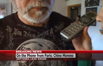 Горячие новости: из Париже по телефону Чино Морено