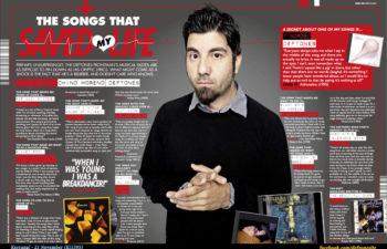 Чино Морено. Песни, спасшие мою жизнь (Kerrang! 1595)