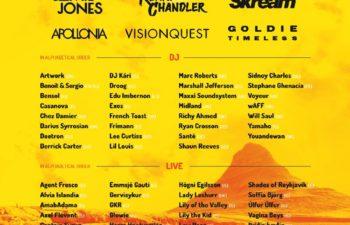 Deftones на фестивале Secret Solstice 2016 в Исландии