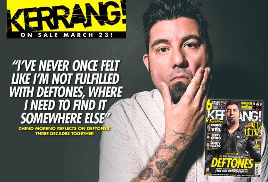 Эксклюзивный материал про Deftones в журнале Kerrang!