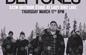 17 марта состоится бесплатный концерт Deftones на фестивале SXSW
