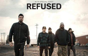 Августовское турне Deftones по США с группой Refused
