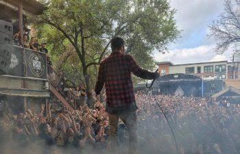Выступление группы Deftones на фестивале SXSW-2016 в Stubb's Bar-B-Q (18 марта)