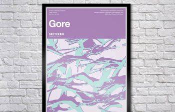 Лимитированное издание постера «Gore» (Limited Edition Gore Serigraph)