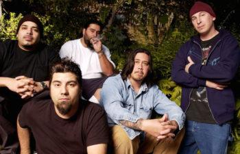 Группа Deftones. Фото - Getty.