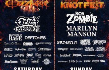 Фестиваль Ozzfest Meets Knotfest
