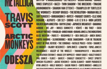 Участники музыкального фестиваля Austin City Limits Music Festival