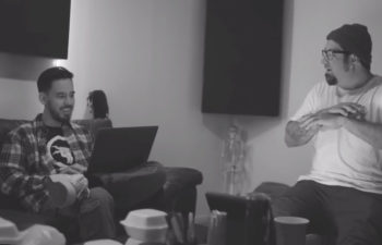 Майк Шинода и Чино Морено в клипе «Lift Off»