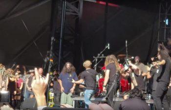 Стивен Карпентер принял участие в концерте-посвящении Винни Полу на фестивале «Monster Energy Aftershock»