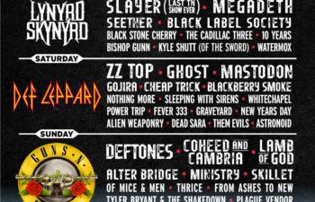 Расписание фестиваля Exit 111