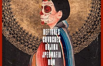 Участники второго фестиваля «Dia de los Deftones»
