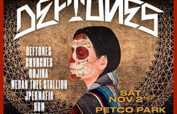 Выступление Chvrches запланировано непосредственно перед Deftones