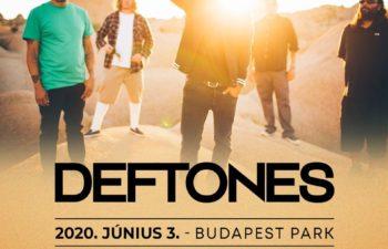 Концерт Deftones в Венгрии 3 июня 2020 года