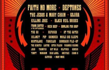 Deftones выступят на фестивале «Sunstroke» в Ирландии