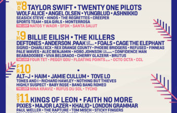 Участники музыкального фестиваля «Mad Cool Festival 2020» в Испании