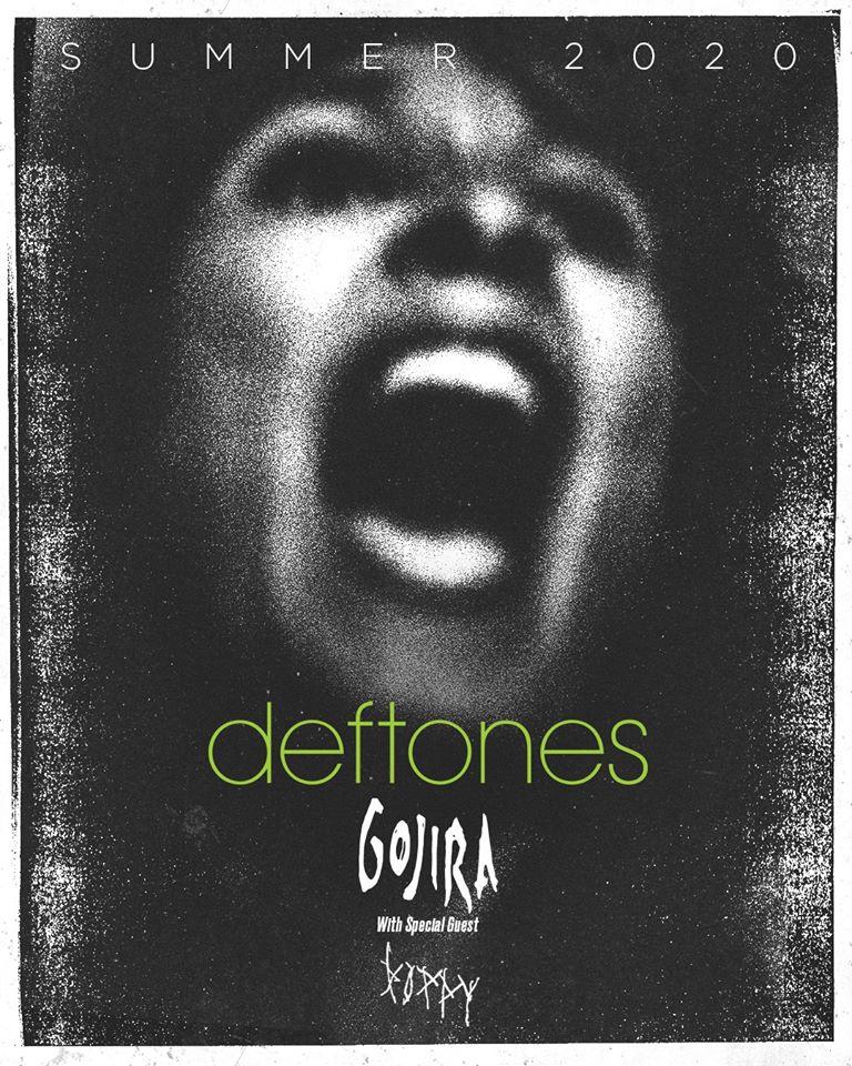 Летнее турне по Северной Америке группы Deftones вместе с Gojira и Poppy