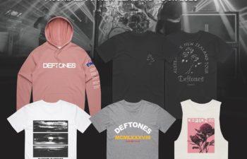 Deftones продают свой австралийский мерчендайз, чтобы помочь дорожной команде