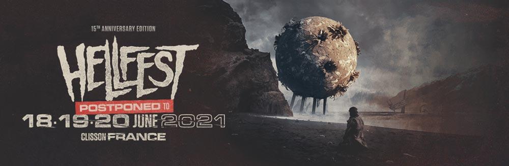 15-й юбилейный фестиваль «Hellfest Open Air» перенесен на 2021 год