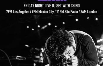 Чино Морено выступит с ди-джейским сетом на Twitch