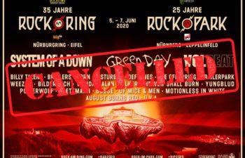 В Германии отменены фестивали «Rock am Ring» и «Rock im Park»