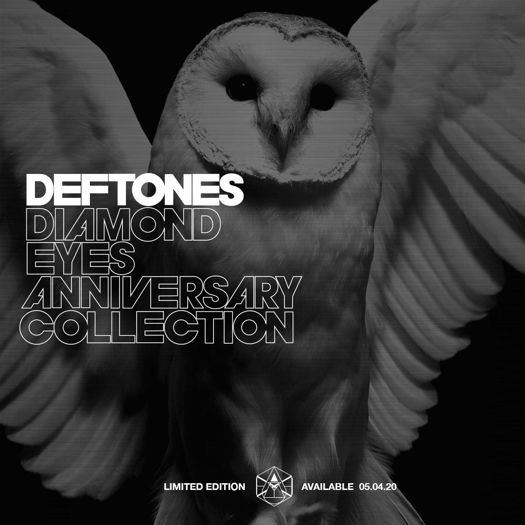 Группа Deftones представила лимитированную коллекцию юбилейного мерча