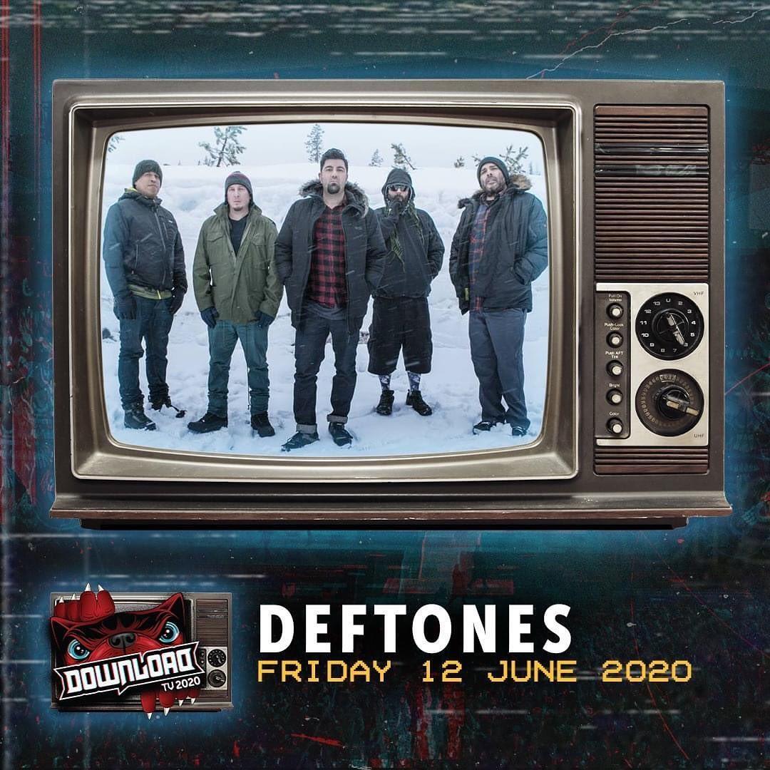 Выступление Deftones на «Download Virtual» будет транслироваться 12 июня