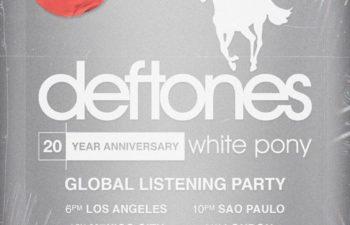 Deftones приглашают на всемирную вечеринку по поводу 20-летия альбома «White Pony»