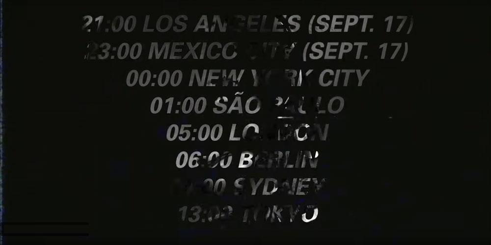 По времени Москвы новый сингл «Genesis» можно будет услышать и увидеть 18 сентября в 7.00.